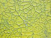 Cracked paint — Stock Photo