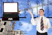 Technische ontwerpen — Stockfoto