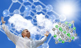 The newest technologies of scientific researches — Stock Photo