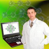 Najnowsze technologie badań naukowych — Zdjęcie stockowe