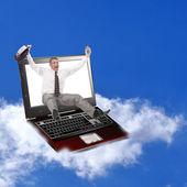 最新的计算机技术的革新 — 图库照片