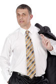 The successful businessman — Stock Photo