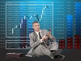 Inversiones financieras — Foto de Stock