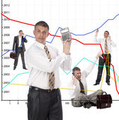 Financial business — Stock Photo