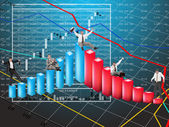 .Financial business — Stock Photo