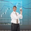 Stock Photo: Financial investments