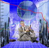 金融ビジネス — ストック写真