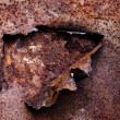 Abstract texture of rusty metal — Stock Photo #5847147