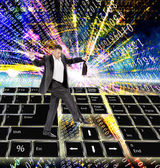 La tecnologia internet — Foto Stock