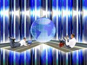 Die neuesten computer die technologie internet — Stockfoto