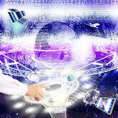 技術インターネット — ストック写真
