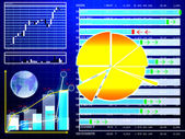 Financial stock backgrounds — Stock Photo