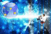 Новые Интернет-технологии — Стоковое фото