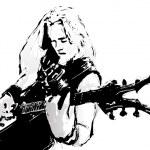 Постер, плакат: Guitarist