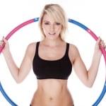 Fitness blonde woman — Stock Photo