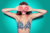 Bikini party — Stock Photo