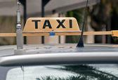 Taksi işareti. — Stok fotoğraf