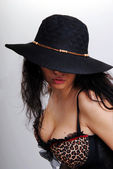 帽子の少女 — ストック写真