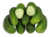 Cucumbers. Isolated. — Stock Photo