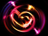 Glowing Vortex — Stock Photo