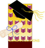 Congratulations Background — Stock Vector