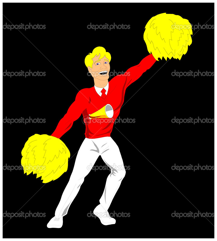 Cheerleader  — Stock Vector #5437882