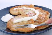 Potato pancakes — Stock Photo