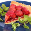 Stock Photo: Strawberry Tart