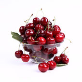 Bowl of Cherry — Stock Photo