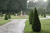 Saray bahçeleri — Stok fotoğraf
