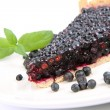 Blackberry Tart - Stock Photo