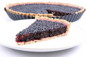Blackberry Tart — Stock Photo