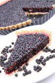 Blackberry Tart — Stock Photo