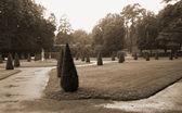 Jardines del palacio — Foto de Stock
