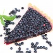 Blueberry Tart - Stockfoto