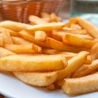 Golden French fries potatoes — Stock Photo #5653950
