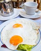 Huevo preparado — Foto de Stock
