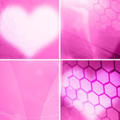 Srdíčko pozadí — Stock fotografie