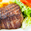 Juicy steak veal — Stock Photo #6076746