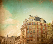 Beautiful Parisian streets — Stockfoto