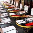 Street view of a Cafe terrace — Stock Photo #6137796