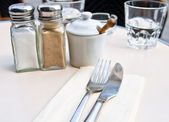 Place setting — Stockfoto