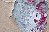 Grunge wall in paris — Stock Photo