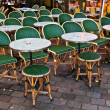 Royalty-Free Stock Photo: Street view of a Cafe terrace