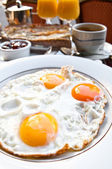 Breakfast-Prepared Egg — Stock Photo