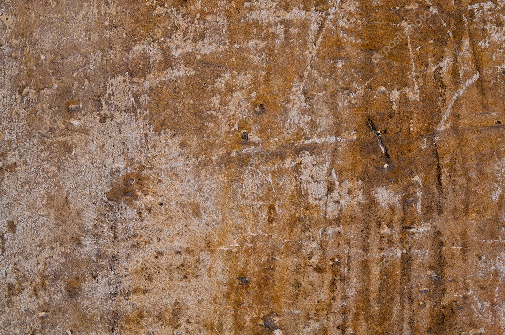 Brown grungy wall - Sandstone surface background.Shot in paris,france  Stock Photo #6496911
