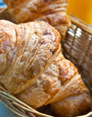 Fresh croissan — Stock Photo