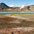 Colorful ground in Namafjall - Iceland — Stock Photo