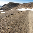 Gravel mountain route - 917. Iceland — 图库照片