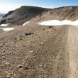 Gravel mountain route - 917. Iceland — Stok fotoğraf